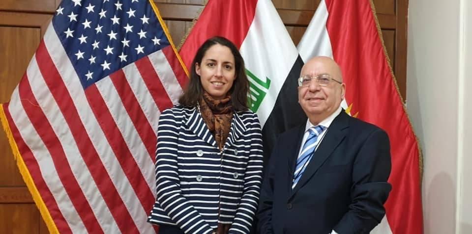 CUE Visits the U.S. Consulate