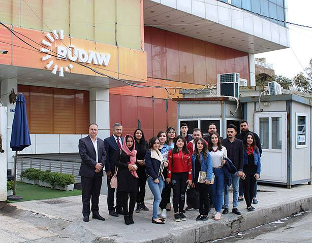 Scientific Trip to Rudaw Channel – CUE