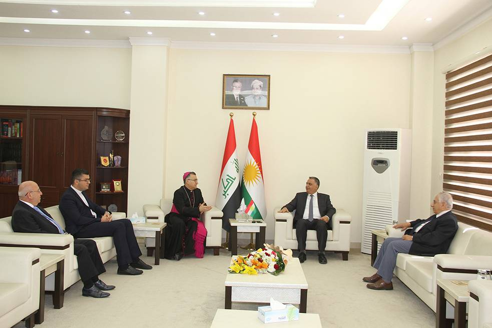 Meeting Minister of Higher Education & Scientific Research