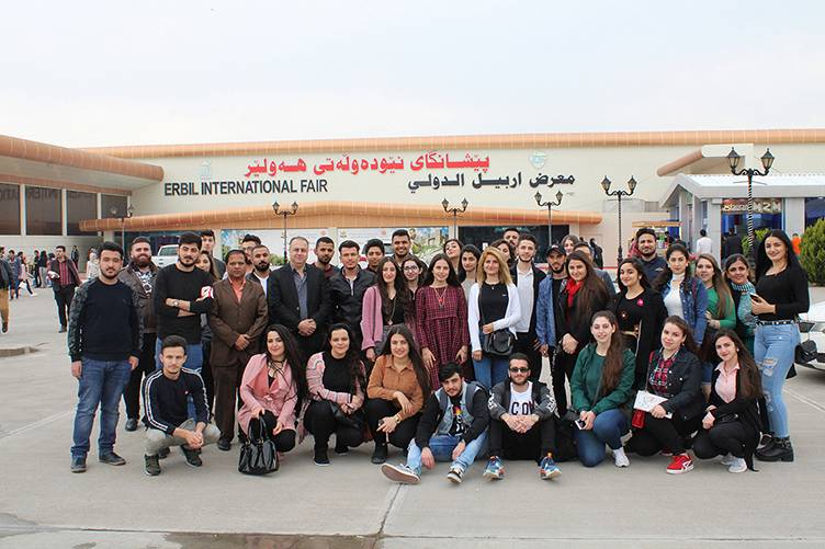 Scientific Trip to Erbil Int'l Book Fair