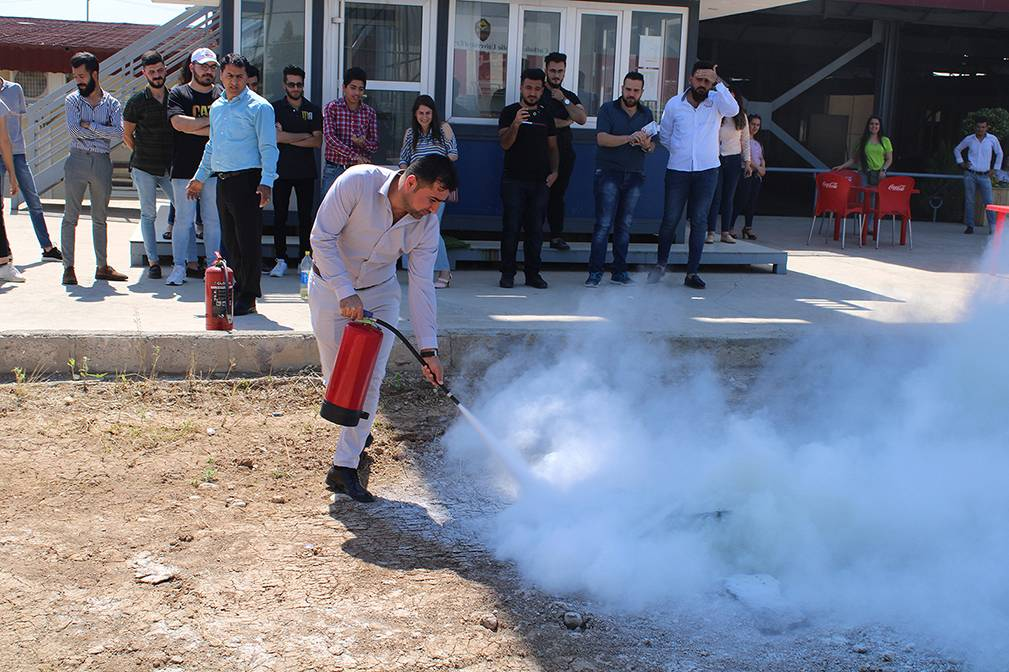 Safety & Firefighting Workshop