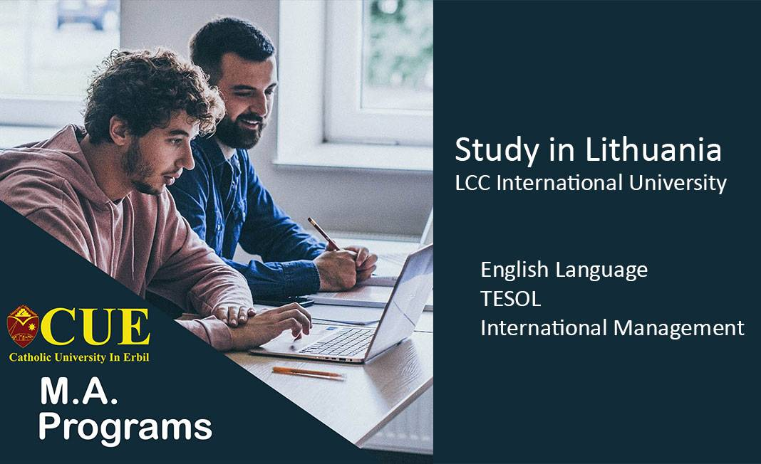 Scholarship Opportunity to Study M.A. in Lithuania