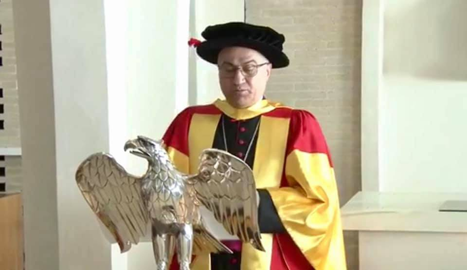 Honorary Doctorate Conferral for His Grace Archbishop Bashar Matti